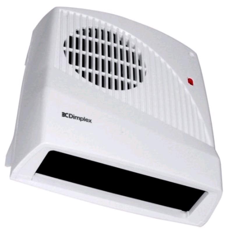Dimplex 2Kw Downflow Fan Heater c/w Runback Timer