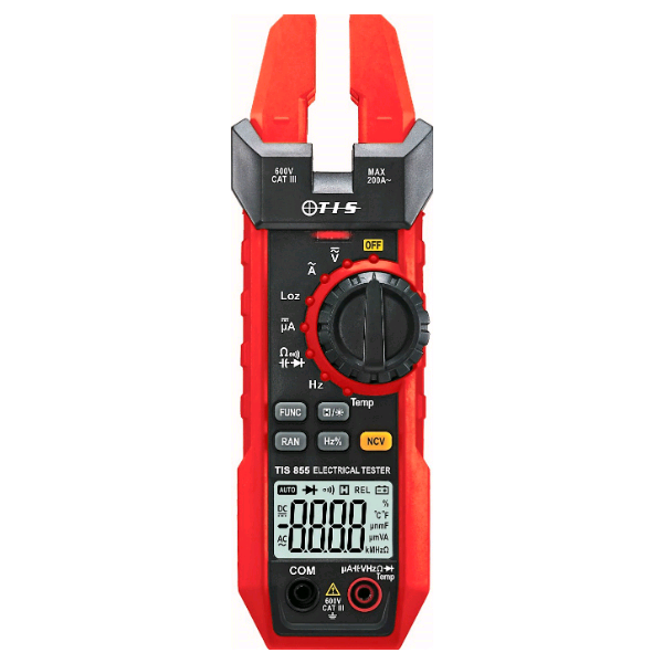 TIS Open Jaw Clamp Meter