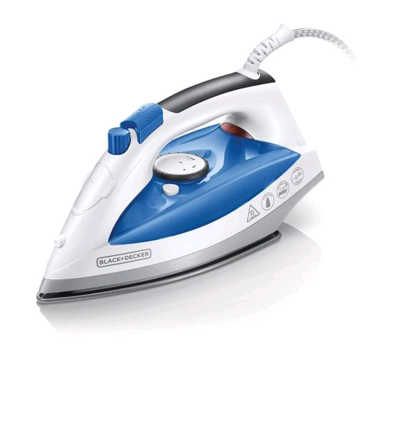Black & Decker Non Stick Soleplate Iron 2200w
