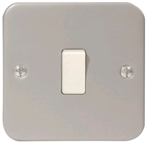 BG Metal Clad 1gang 2way Switch