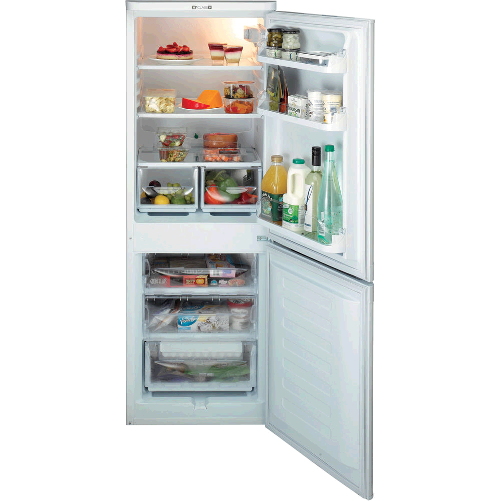 Hotpoint First Edition Fridge Freezer Static 1.5m 54.5 A+ SILVER