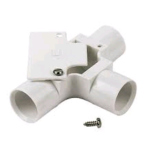 Falcon Conduit Inspection Tee 20mm White