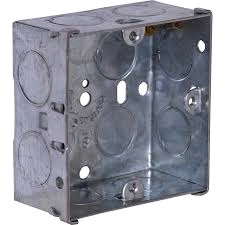 Knock Out Metal Box 1gang 35mm