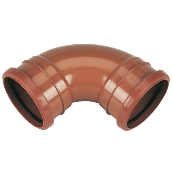 Floplast Double Socket Underground Bend 6D561