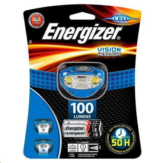 Energizer Vision Headlight HDA32 100Lms LP08771