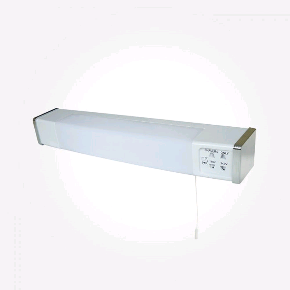 Eterna Low Energy Dual Voltage Shaverlight IP44