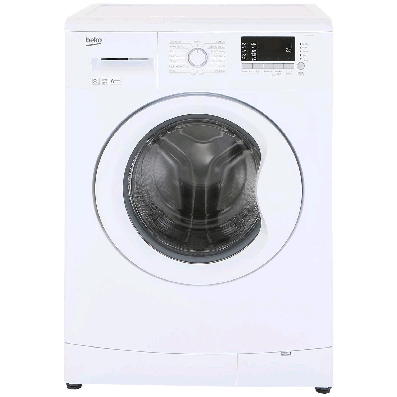 Beko 8Kg Washing Machine 1200Spin H85 W60 D54