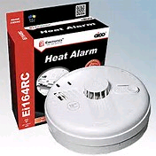 Aico Ei164RC Heat Smoke Alarm 240V