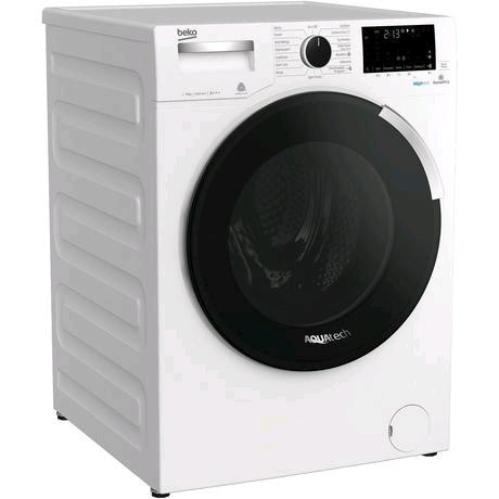 Beko Washing Machine 9kg 1400 Spin Speed c/w AquaTech