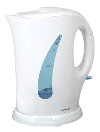 Lloytron Cordless Kettle White 1.7ltr 2Kw