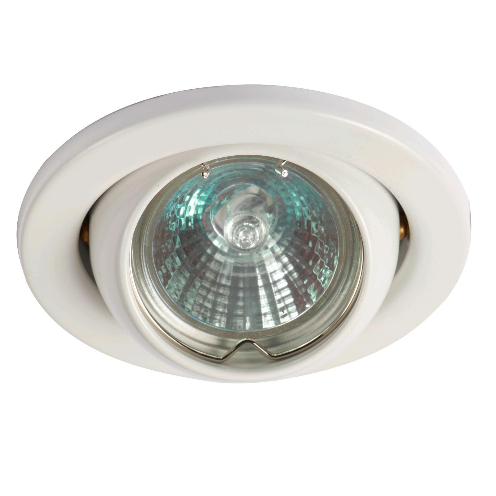 JCC Fireguard LV Eyeball Downlight White
