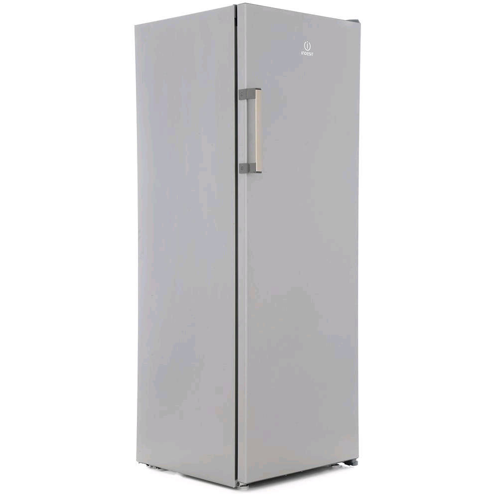 Indesit Upright Larder Fridge 322ltr in Silver H1600 W600