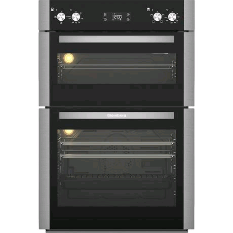 Blomberg Built-In Electric Double Oven in Stainless Steel