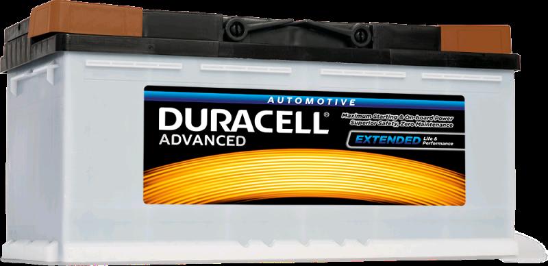 Duracell Battery 12V 100Ah 860A Silver High (3019)
