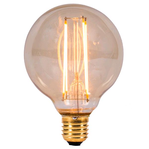 Bell Vintage 4w ES LED Globe 80 Amber 2000k
