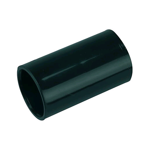 Falcon Conduit Coupler 25mm Black