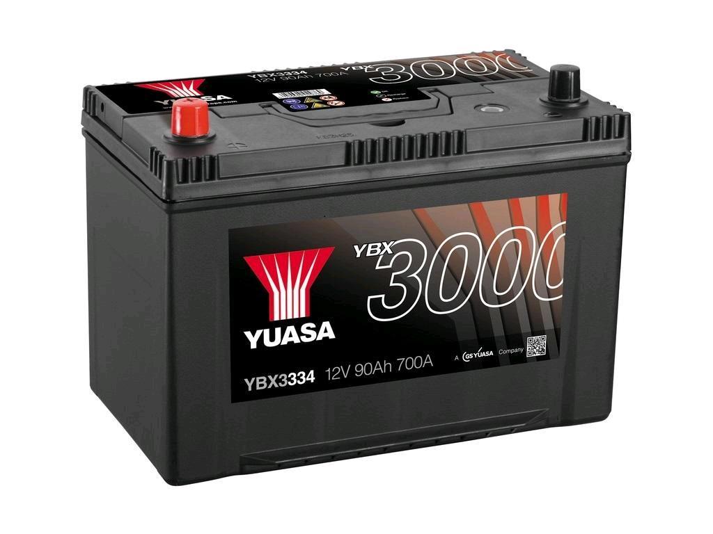 Yuasa SMF Battery 12V 90Ah 700A (250) 12mnth