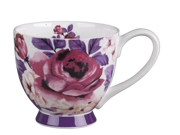 Portobello 5100117 China Footed Mug Aurora Pink CM04383