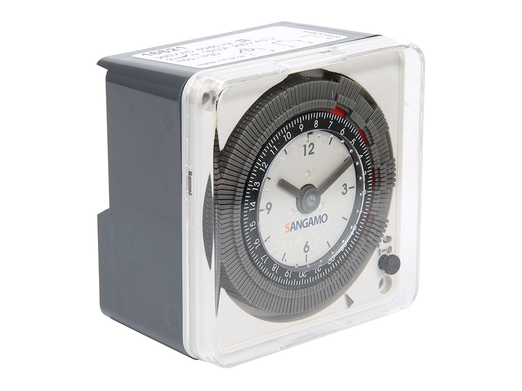 Sangamo 24hr 16a Single Channel Analogue Timer + Batt