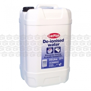 Distilled (De-Ionised) Water 25Ltr