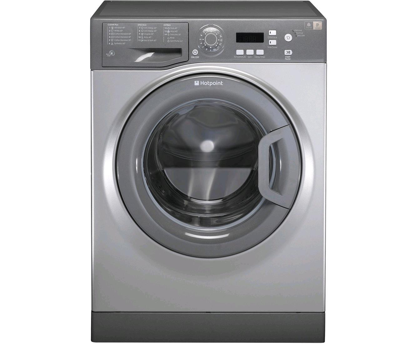 Hotpoint 1400 Spin 7kg Washing Machine Granite