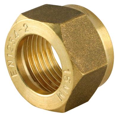 Copper Nut 22mm Compression