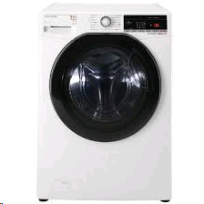 Hoover Dynamic Next Advance With one Touch 9kgload 6kg dry 1500spin white with Tinted Door