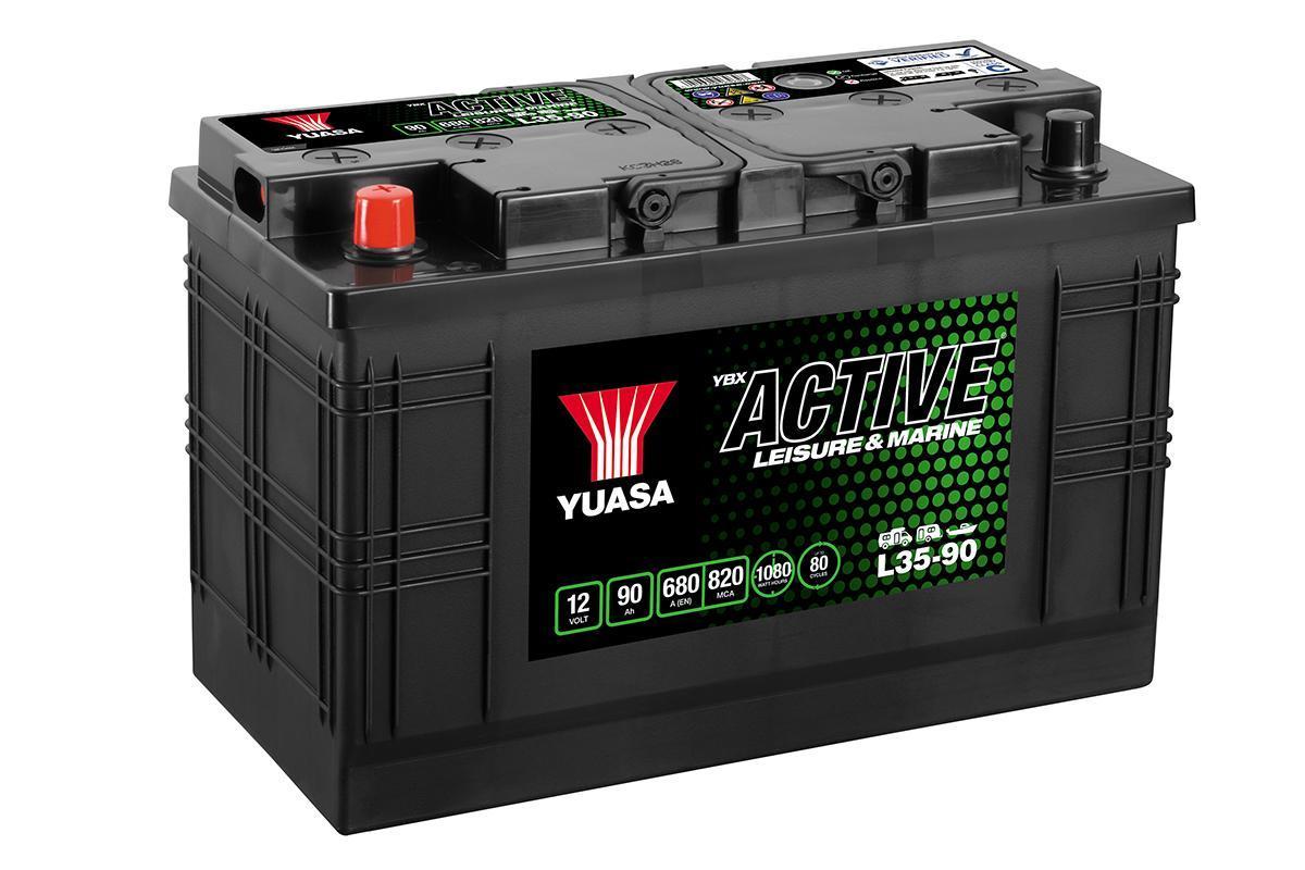 Yuasa 12V 100Ah 700A Leisure Battery 6 Mth Warranty