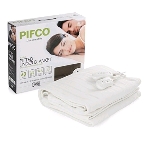Pifco Double Fitted Underblanket Dual Control