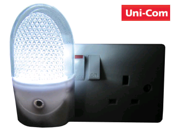 UNICOM 61434 3 LED Night Light 7620616 Soft White
