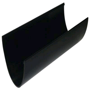 Floplast Hi-Cap 115mm Gutter 4mtr Black RGH4