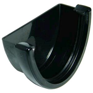 Floplast Hi-Cap External Stopend Black REH1