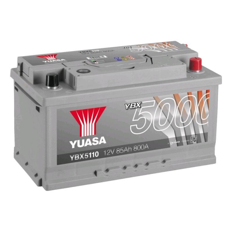 Yuasa Battery 12V 85Ah 800A Silver High