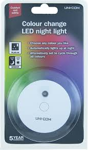 UNICOM 63988 COLOUR CHANGING NIGHT LIGHT