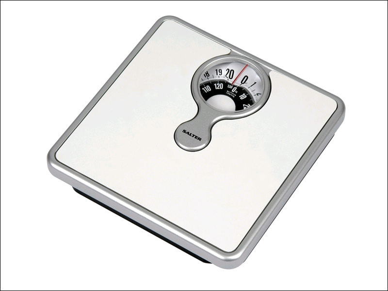 Salter Mechanical Bathroom Scales With Magnifying Lense