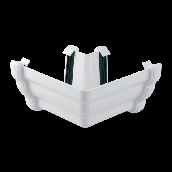 Floplast Niagara Square Guttering 90° External Angle White