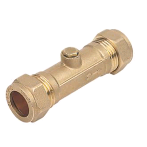 Brass Double Check Valve 28mm