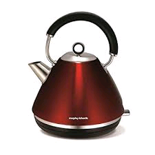 Morphy Richards Accents Kettle 1.5Ltr 3Kw RED