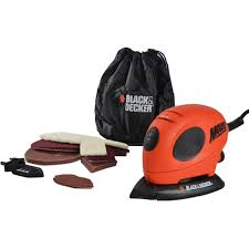 Black & Decker Mouse Sander + Sanding Sheets