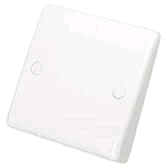 BG 25a Flex Outlet Plate Bottom Entry