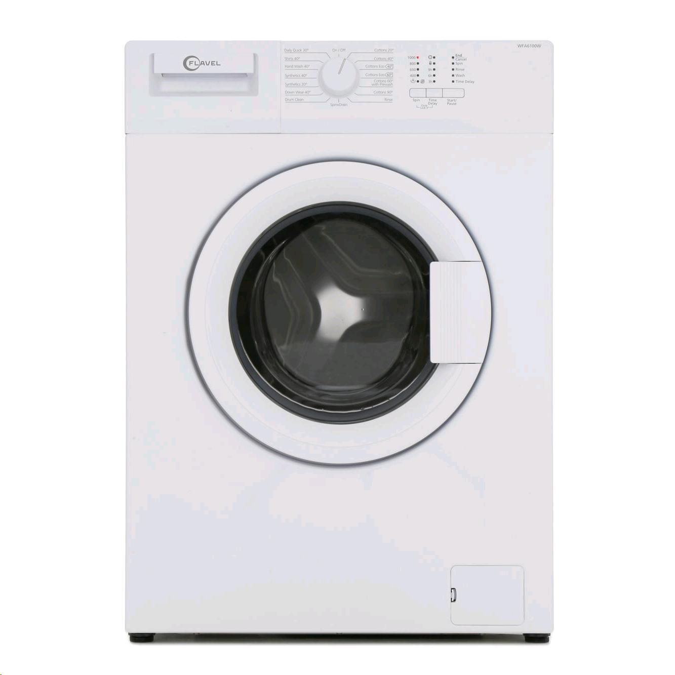 Flavel Washing Machine 6kg 1000 Spin Speed A++