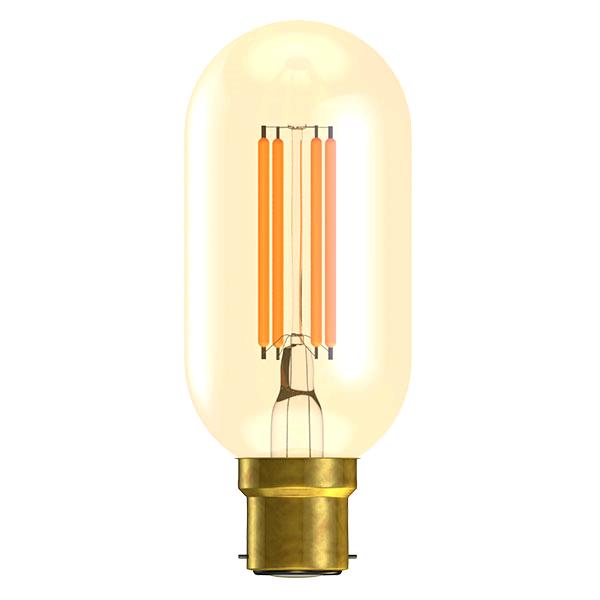 Bell Vintage 4w BC LED Tubular Amber 2000K