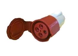 Gewiss 32a 415V 3P + E Inline Socket IP44