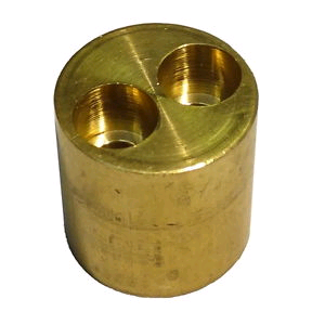 Bullet Manifold 22mm x 10mm 2Port