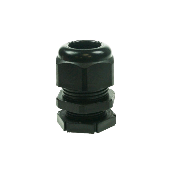 Falcon Conduit Compression Gland 20mm Large Black