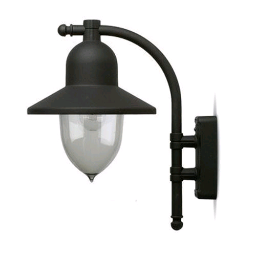 JCC Truro Downwards Lantern Black