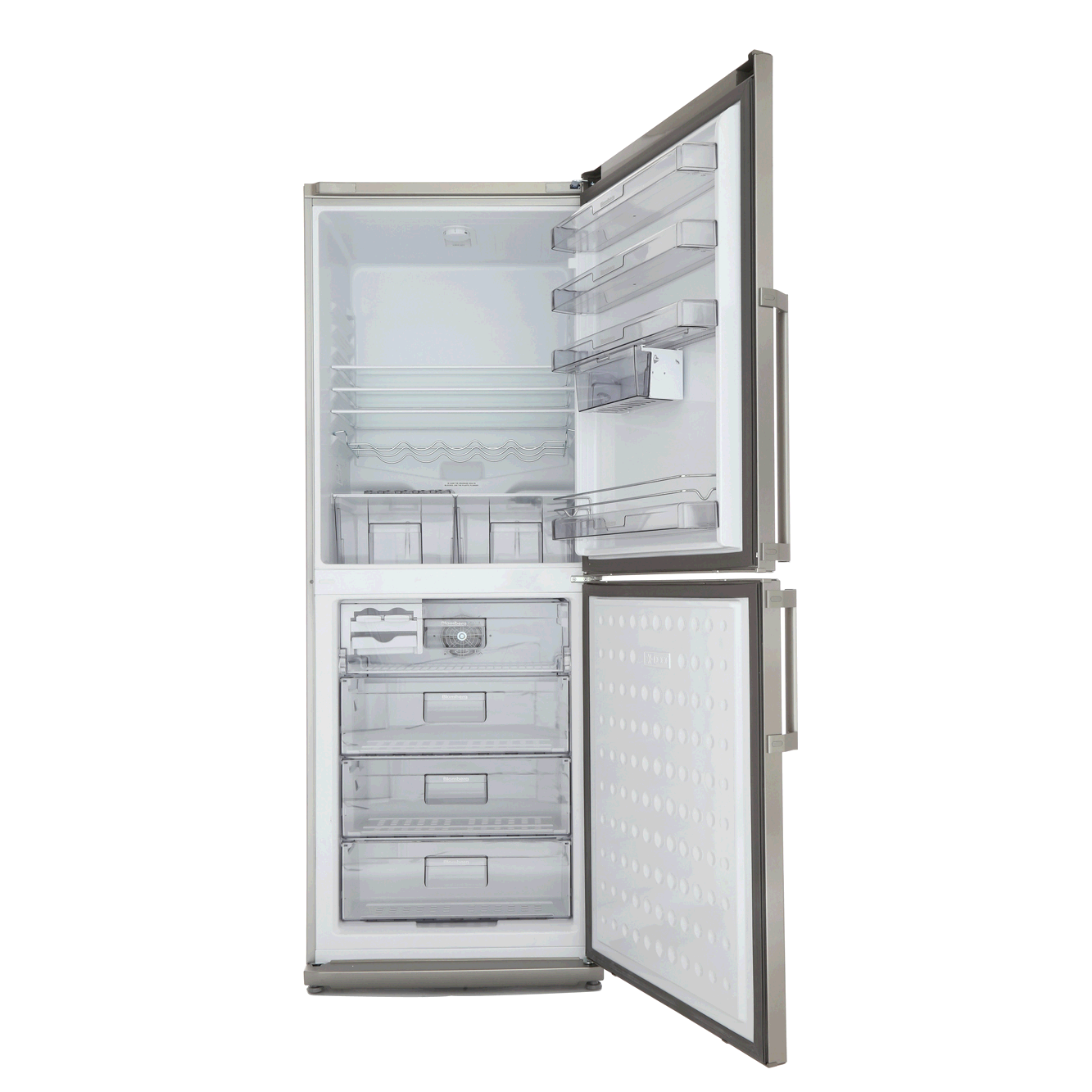 Blomberg Frost Free Fridge Freezer H190cm W 70cm D60cm Stainless/Silver
