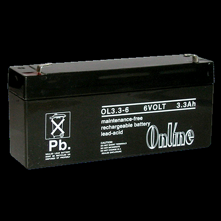 Battery Rechargeable 6V 3.3AH LY11-033-18