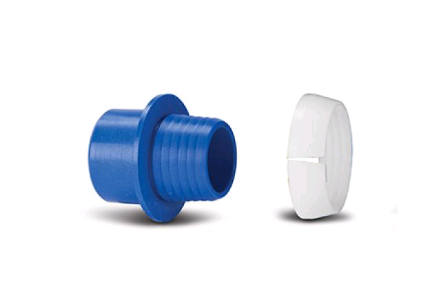 Polypipe Class C Adaptor Set Dark Blue 20mm x 3/4""