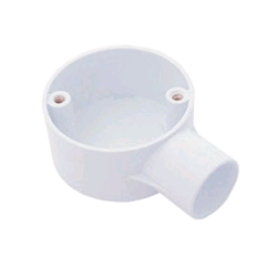Falcon Conduit Terminal Box 25mm White